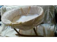 Renovated vintage Clair De Lune cradle