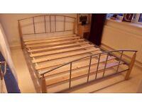 King Size Metallic bed frame