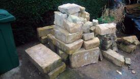 original bath stone from 18c house inc ashlars reclaimed