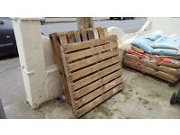 Free Wooden Pallets ( 3 in total )