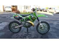 KX 125 2005 2 stroke motocross bike