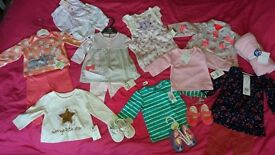 All brand new with tags, 0-3 month's