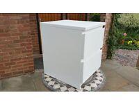 White 2-drawer Cabinet