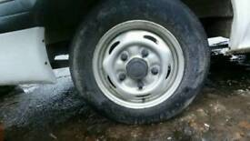 FORD TRANSIT WHEELS GOOD CONDITION!