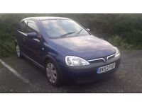 Vauxhall Corsa 2003 petrol for sale