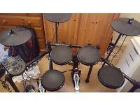 Alesis DM Nitro Electronic Drum kit (with Mapex double falcon!)