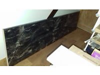 Kitchen Worktop - Black Storm Gloss Axiom - approx 2.4m