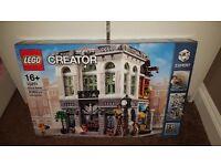 LEGO Creator 10251, Brick Bank. Brand New & Sealed