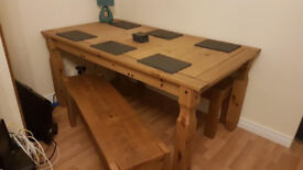 Extendable Table and Benches