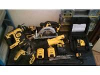 18v Dewalt tools. Job lot