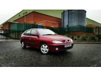 2000 Renault Megane 1.6 Sport Automatic ONLY 46K Long MOT Cheap Auto Clio Corsa Scenic Laguna Astra