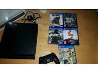 Ps4 boxed with games