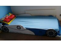 Kid's Car Bed with Mattress