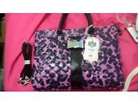 Purple LYDC London Bag