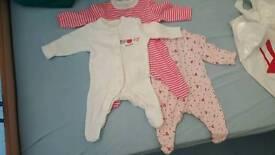 New born unused clothes