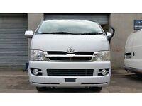 Toyota Hiace Van H200 D4D NEW SHAPE for sale £9995