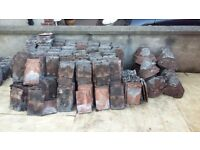 Reclaimed 1930's Clay Roof Tiles Approx 700