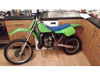 kawasaki kx 80 big wheel (project) ( ring only)