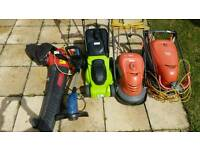 used Electric Garden Power Tools