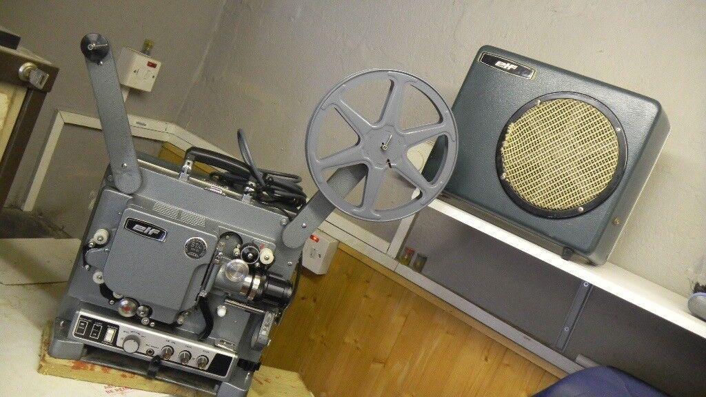 Vintage Elf 16mm film projector | in Llanelli, Carmarthenshire | Gumtree
