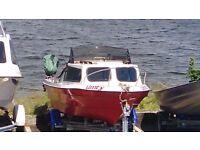 Powerboat 15ft Orkney Spinner Brunney