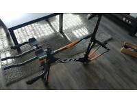 Felt B16 58cm TT time trial frameset, aerobars and extras