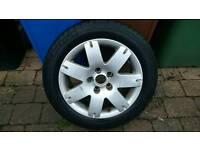 Passat B5.5 Alloy wheels