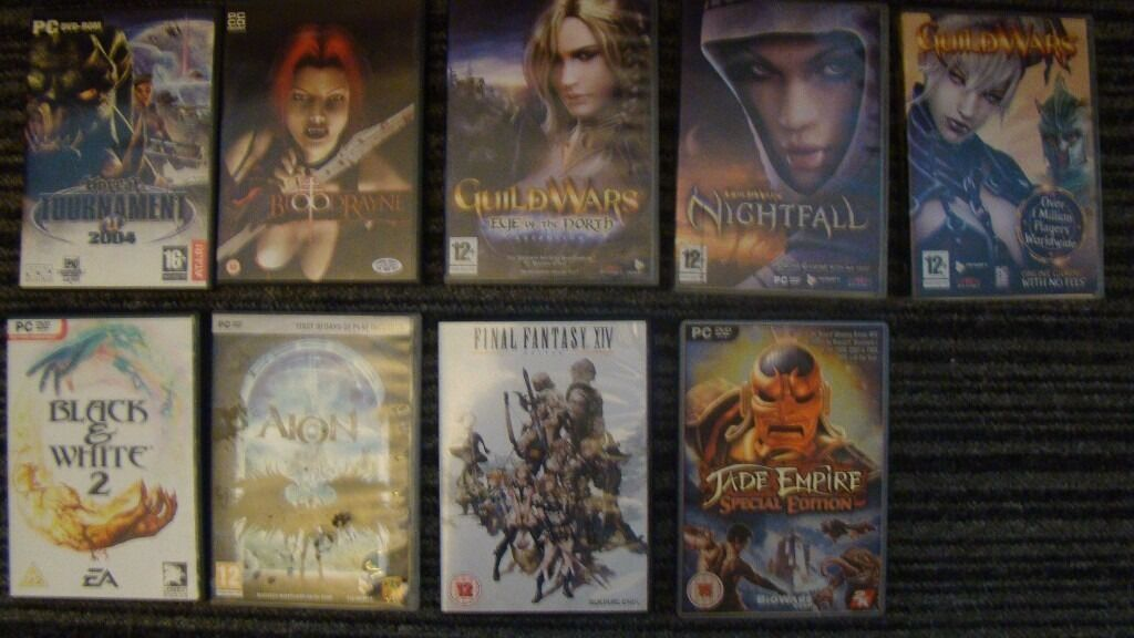 PC Games collection 90 games and more