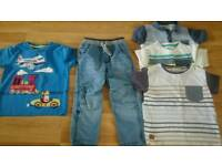 Bundle of Boys Clothes - Age 2 to 4