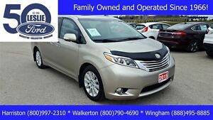 2015 Toyota Sienna Limited | NAVIGATION | Leather