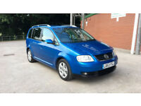 2003 VOLKSWAGEN TOURAN SPORT 2.0 TDI 7 SEATER, FULL VW&VW SPECIALIST SERVICE HISTORY, 2 OWNERS,CLEAN