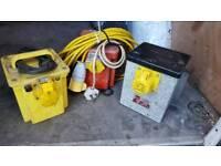 110 volt Transformer Box