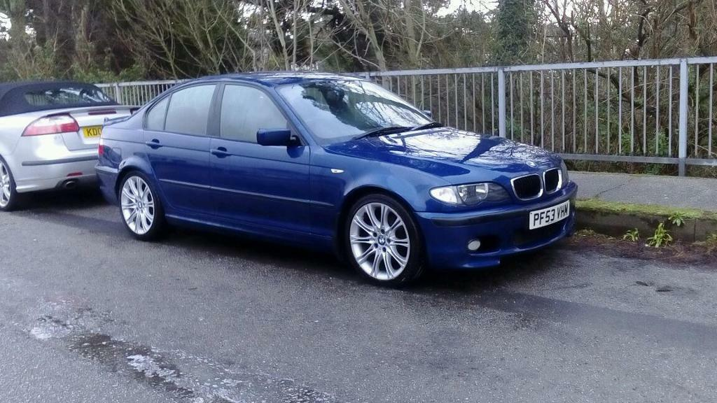 bmw e46 320d individual msport lemans blue in redruth cornwall gumtree. Black Bedroom Furniture Sets. Home Design Ideas