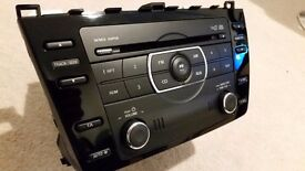 Mazda 6 Mazda6 GH car stereo piano black