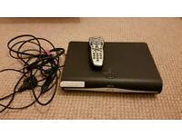 Sky + HD Tv box with remote available for collection