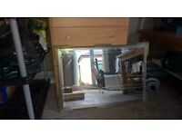100cm wide good quality Mirror - reduced