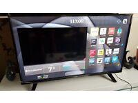 LUXOR 50 TV 4K SUPER Smart HD TV,built in Wifi,Freeview HD, NETFLIX,Ex-Display.BOXED