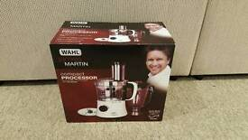 James Martin Wahl White Compact Food Processor Brand New