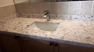 Vanities top custom made ONSALE (free sink)