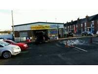 HAND CAR WASH AND TYRES PLACE FOR SALE