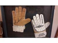 Signed David Seaman Gloves