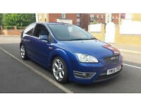 2006 FORD FOCUS ST 2 performance blue 225 bhp st2 private plate bargain Must see