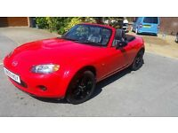Mazda MX5 1.8 2009 with only 58k miles