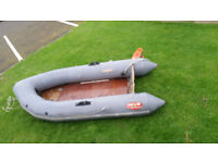 avon s60 inflatable sports 9ft with ply floor and pump