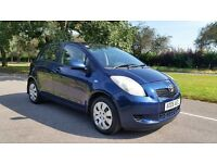 TOYOTA YARIS T3 1296cc 06 plate 2006 77000 MILES WITH A FULL TOYOTA MAIN DEALER SERVICE HISTORY