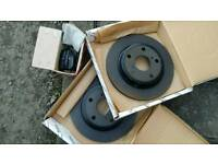 Genuine Toyota Auris Brake Discs and Pads