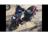 2014 14reg Aprilia SR 125cc Scooter Black Grey Red Good Runner