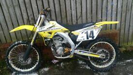 suzuki rmz 450 2006/7 model race tuned great fast bike good condition good price