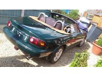 Classic MX5 with very low mileage and 10 months MOT