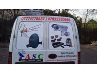 Satellite dish Sky dish TV Aerial and CCTV Installations - Repairs